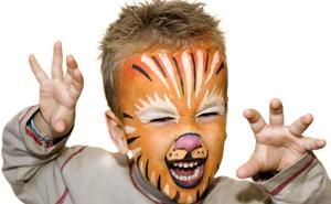 De tijgerlook!